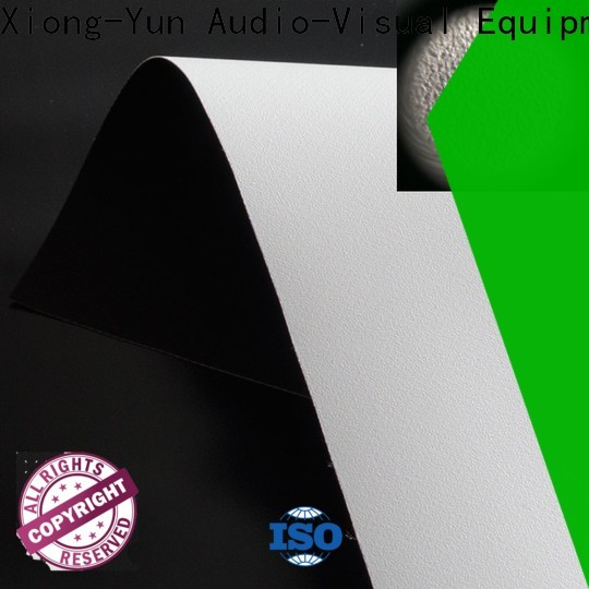 XY Screens standard front and rear fabric with good price for thin frame projector screen