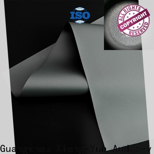 XY Screens projector screen fabric from China for fixed frame projection screen