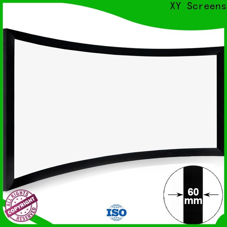 mini curved home theater screen supplier for ktv