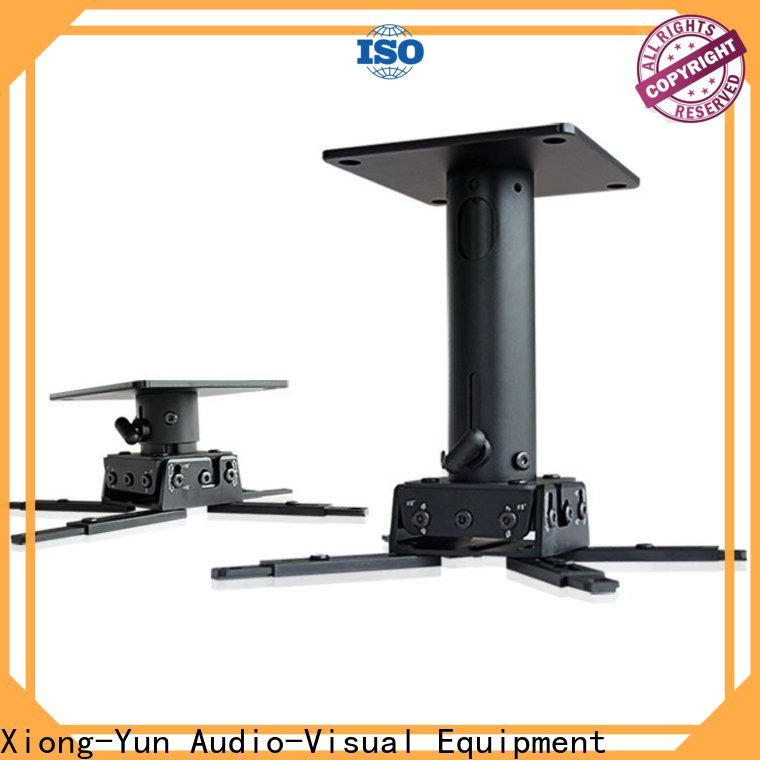 XY Screens ceiling projector mount customized for movies
