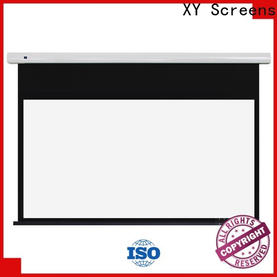 XY Screens electric projector screen factory price for home