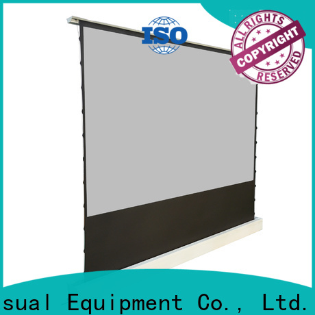 manual pull up projector screen factory for indoors