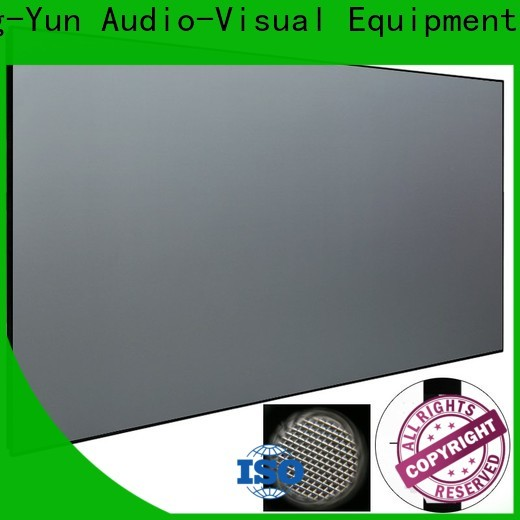 XY Screens aluminum alloy ultra short throw projector screen from China for television