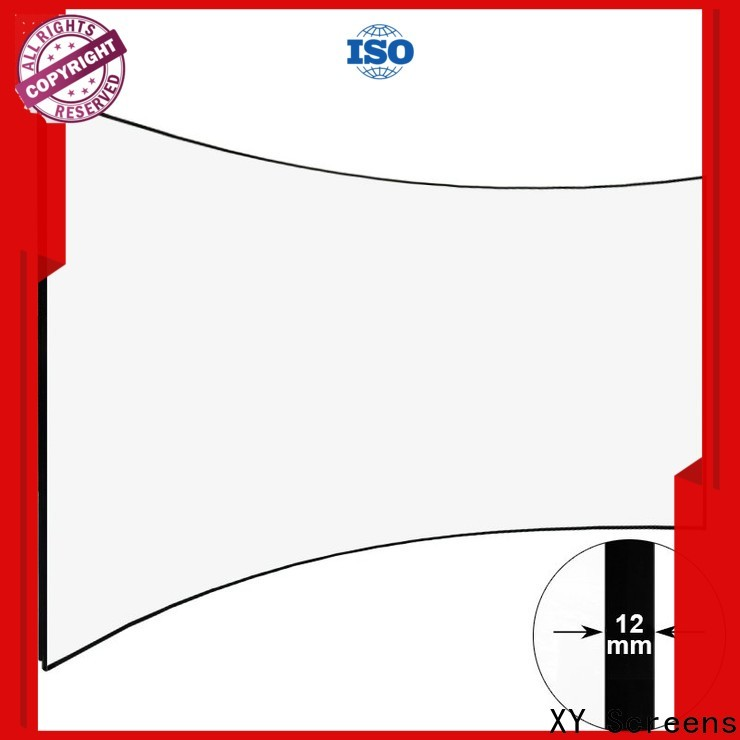XY Screens Home Entertainment Curved Projector Screens wholesale for movies
