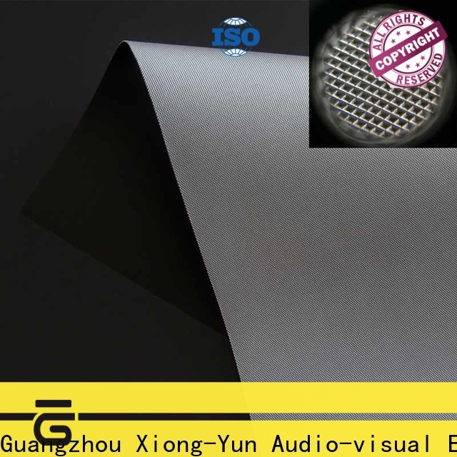 standard projector cloth manufacturer for thin frame projector screen