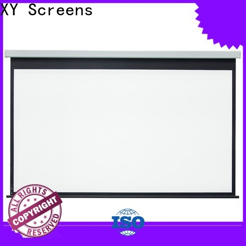XY Screens stable Home theater projection screen personalized for indoors