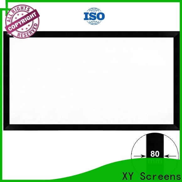 XY Screens thin movie projector price factory price for meeting room