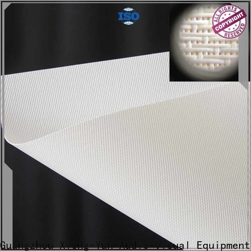 acoustically acoustically transparent screen material customized for thin frame projector screen
