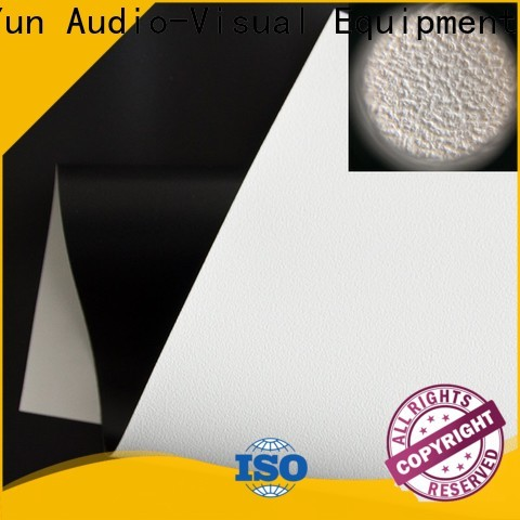 professional projector fabric with good price for projector screen