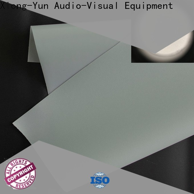 XY Screens Rear Fabrics with good price for thin frame projector screen