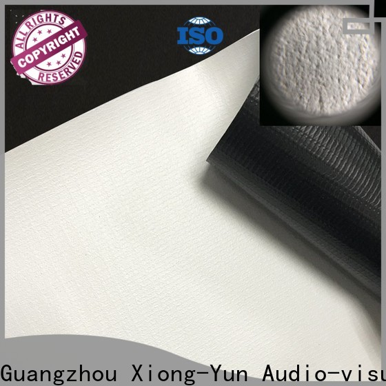 XY Screens hard screen front fabrics factory for projector screen