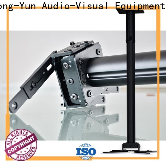 XY Screens mounting projector floor mount series for television