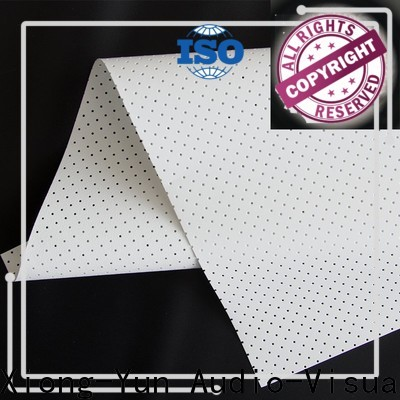 XY Screens perforating acoustic projector screen from China for projector screen
