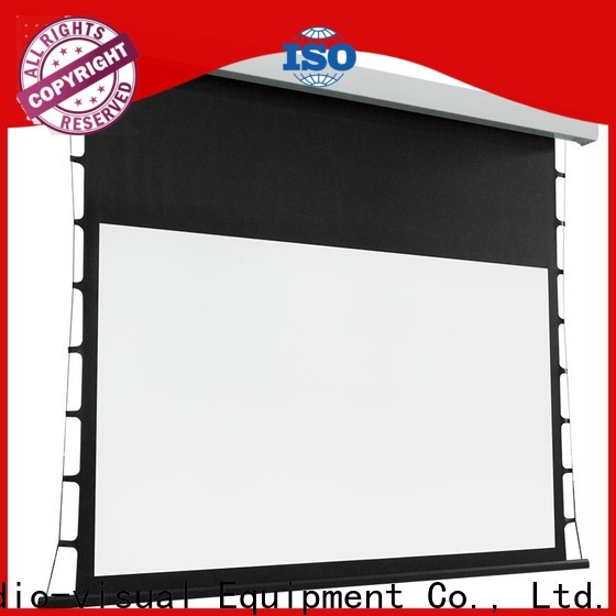 XY Screens tab tensioned projector screen factory price for household