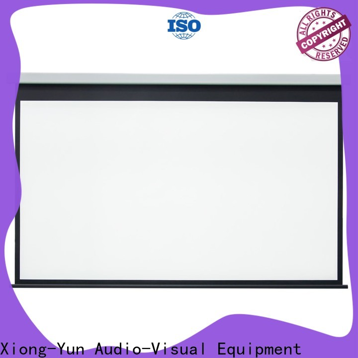 XY Screens intelligent Motorized Projection Screen personalized for theater