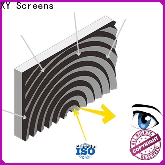 XY Screens light rejecting ultra short throw projector for home theater manufacturer for movies