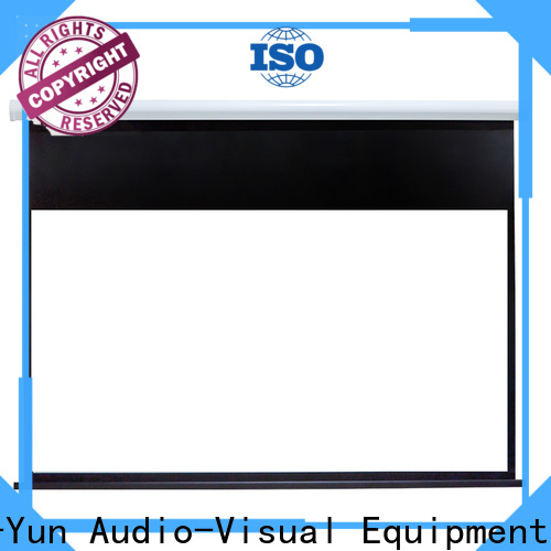 stable Motorized Projection Screen wholesale for home