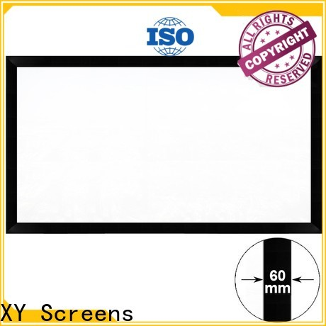 sturdy Commercial Fixed Frame Projector Screens factory for office