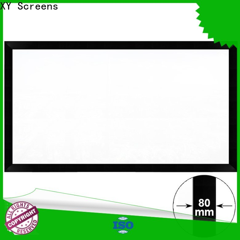 XY Screens home theater projector screen factory price for theater