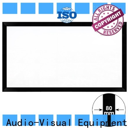 XY Screens slim home theater projector screen factory price for office
