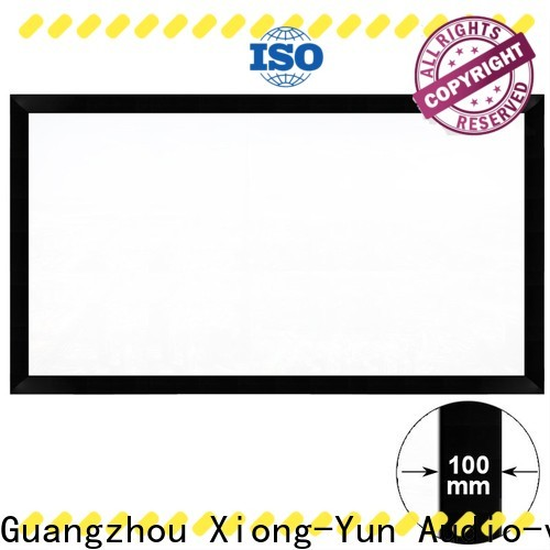 XY Screens Projection Screens customized for indoors