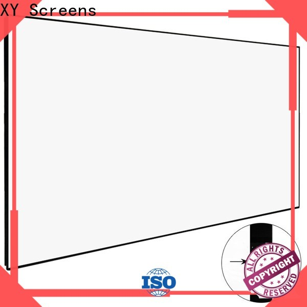 XY Screens HD Home Theater Projector Screen series for living room