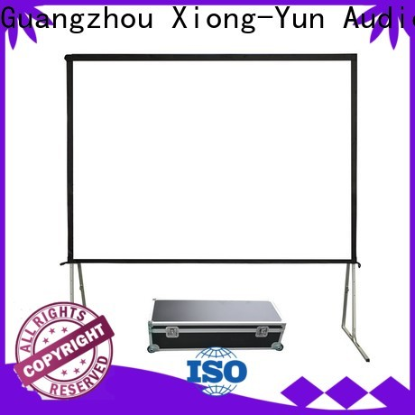 XY Screens stable outdoor projector screen wholesale for outdoor