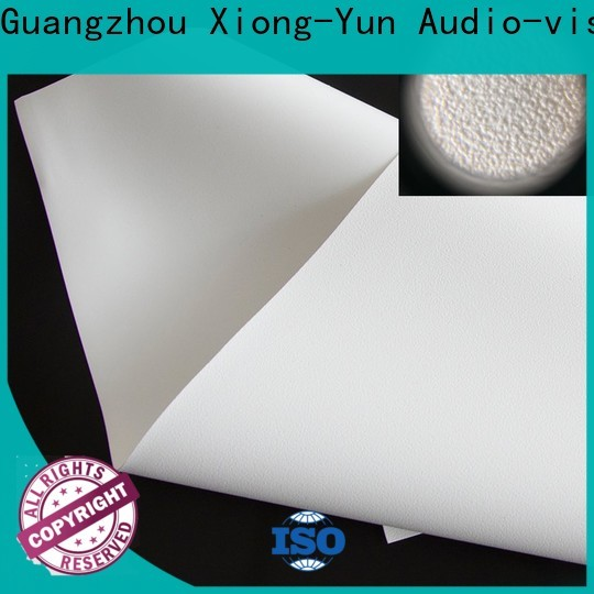 normal projector fabric factory for motorized projection screen