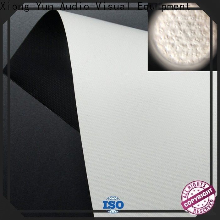 flexible projector fabric with good price for thin frame projector screen