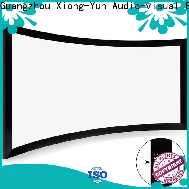XY Screens curved curved projector screen diy customized for theater