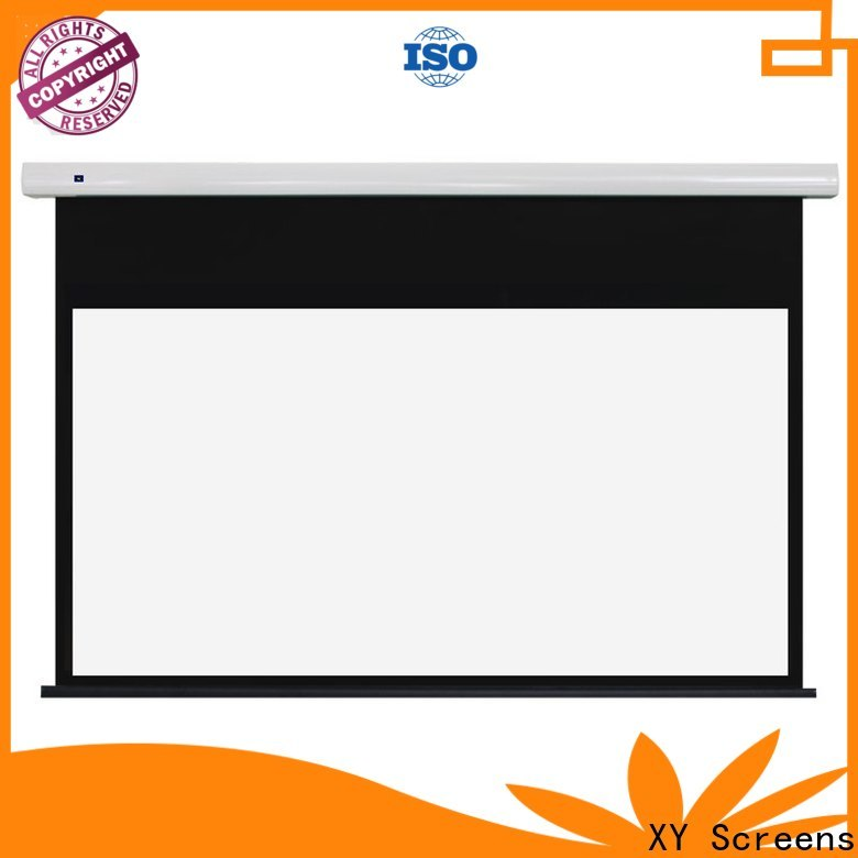 XY Screens electric projector screen wholesale for home