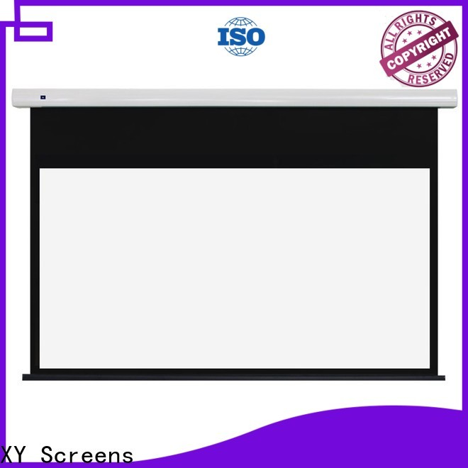XY Screens curved projection screen manufacturer inquire now for home