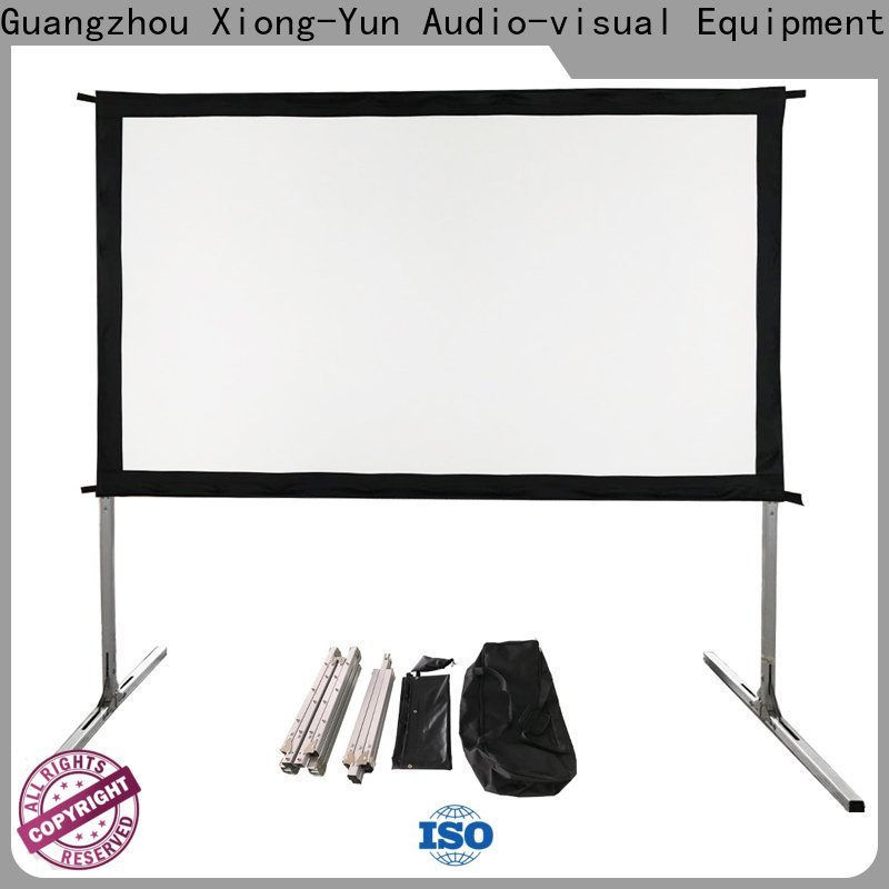 XY Screens outdoor pull down projector screen supplier for outdoor