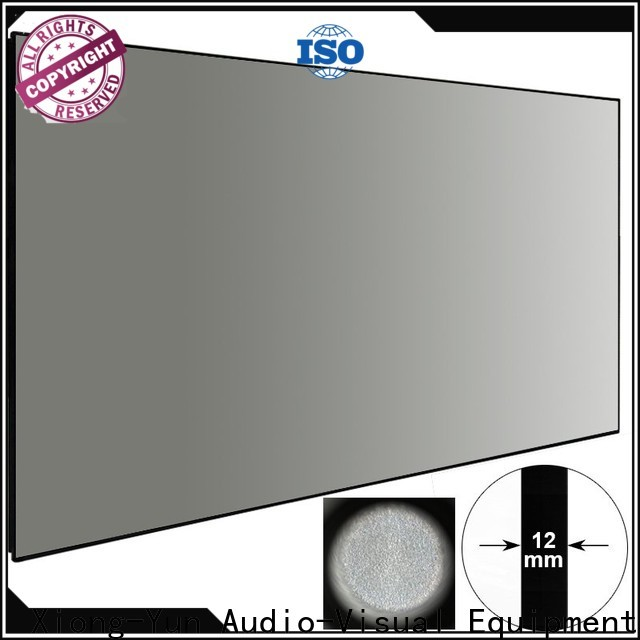 XY Screens Ambient Light Rejecting Projector Screen factory price for living room
