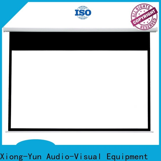 stable Motorized Projection Screen supplier for theater