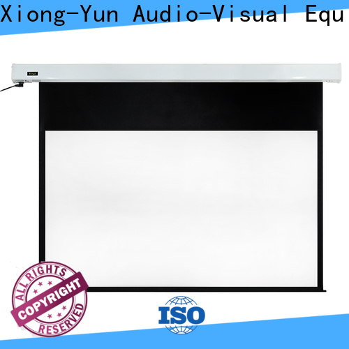 XY Screens curved motorized screens factory price for rooms