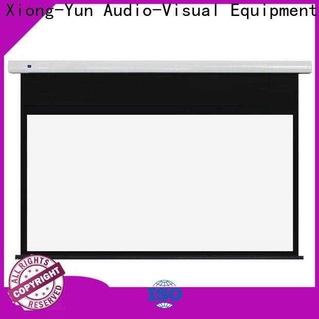 XY Screens theater screen factory for living room