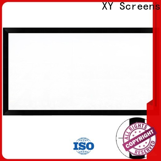XY Screens home theater projector screen personalized for office