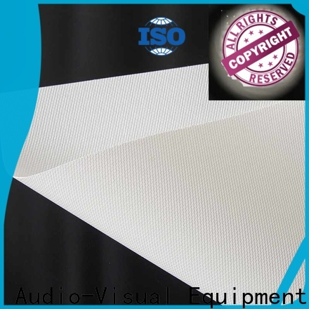 acoustically acoustically transparent screen material directly sale for thin frame projector screen