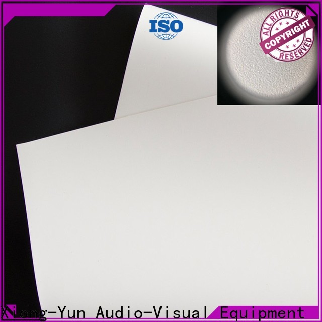XY Screens hard screen projector screen fabric china design for projector screen