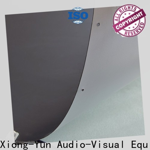 XY Screens front fabrics inquire now for fixed frame projection screen