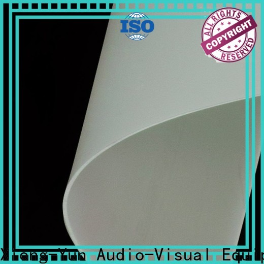 XY Screens Rear Fabrics inquire now for thin frame projector screen