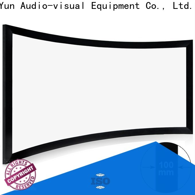XY Screens wholesale projector screens customized for theater