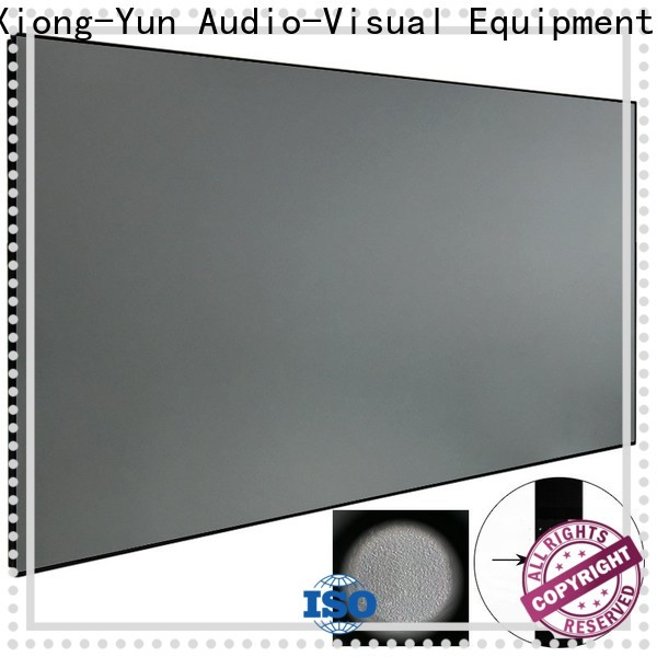 XY Screens crystal Ambient Light Rejecting Projector Screen personalized for household
