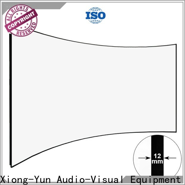 XY Screens curved projector screen factory price for home cinema