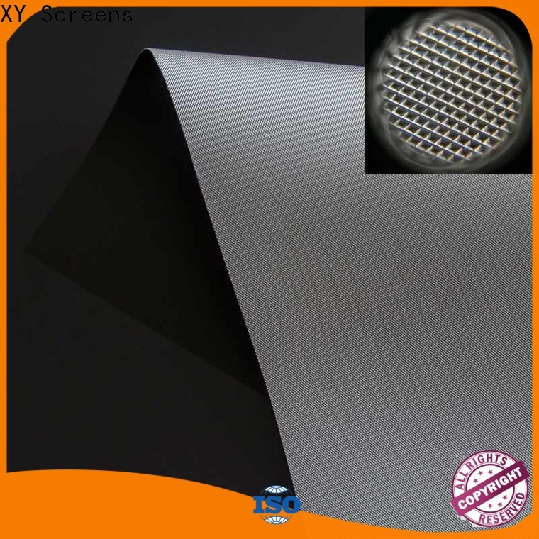 XY Screens light rejecting best projector screen material directly sale for thin frame projector screen