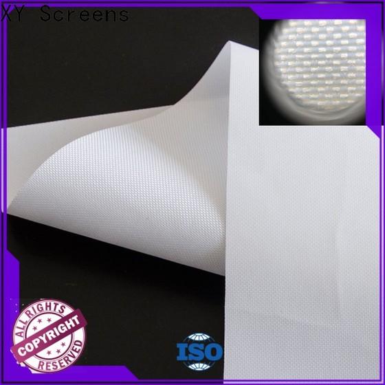 XY Screens Rear Fabrics factory for projector screen