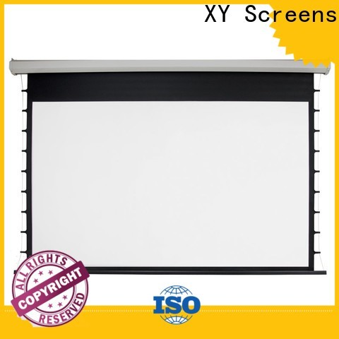 stable Home theater projection screen personalized for rooms