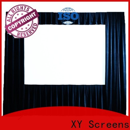 fast folding outdoor pull down projector screen personalized for outdoor