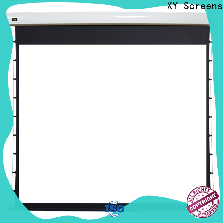 XY Screens Motorized Projection Screen supplier for home